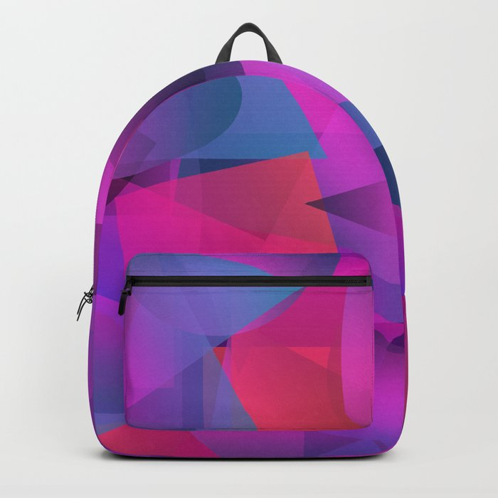 Abstract cube Backpack