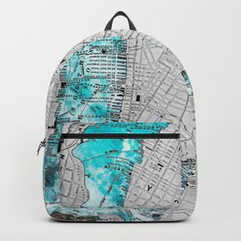 NEW YORK CITY OCEAN MAP Backpack