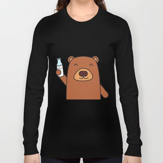 Cheers, Bear! Long Sleeve T-shirt