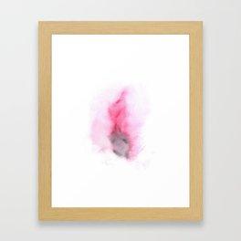 Vulva - Vagina watercolor Framed Art Print