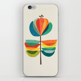 Whimsical Bloom iPhone Skin
