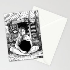 asc 671 - Le non-globe (Found in the desert) Stationery Cards