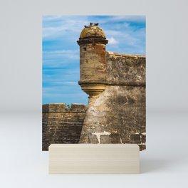 Castillo de San Marcos Mini Art Print