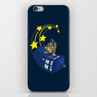 kirby iPhone & iPod Skins featuring Dr. Kirby by Macaluso