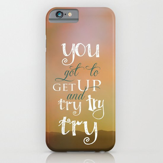 MOTIVATIONAL QUOTE iPhone & iPod Case