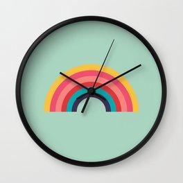 Rainbow Wall Clock