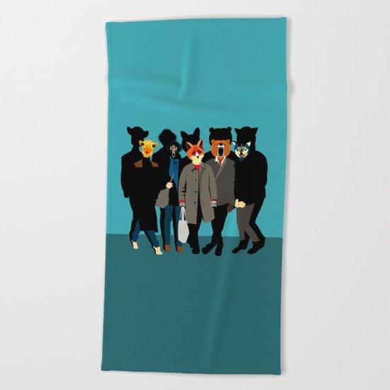 The gang Beach Towel