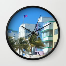 Miami Welcome Wall Clock