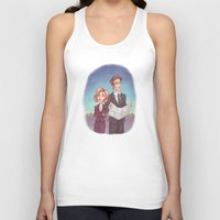 dana scully Tank Tops featuring Mulder & Scully by Kaz Palladino