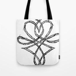Hjerteflet Tote Bag