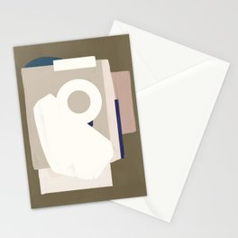 Branded Abstract 8 Stationery Cards