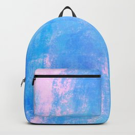 cotton candy watercolor Backpack