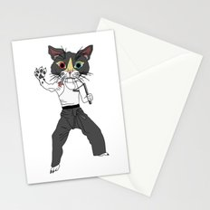 Karate Cat Stationery Cards