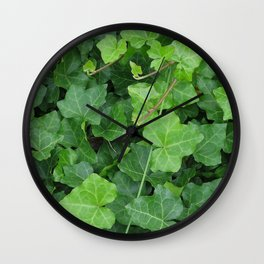 Creeping Ground Cover Wall Clock