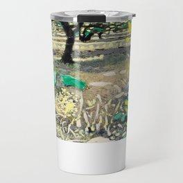 Olive Tree & Gorse Bush Travel Mug