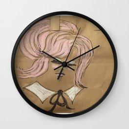 Pink Ladies: Deneuve Wall Clock