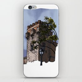 Tower of the palace (color) iPhone Skin