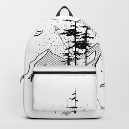 Night Sign Backpack