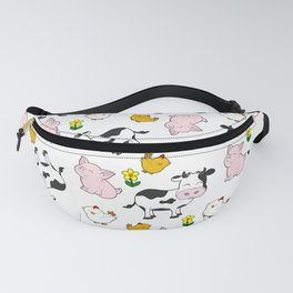 The Farm Pattern Fanny Pack