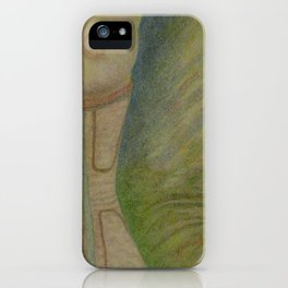 A Lingering Glance iPhone Case