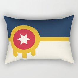 Tulsa Flag Rectangular Pillow