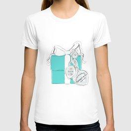 Blue Gift Box T-shirt