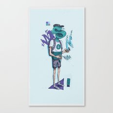 S80 Man Canvas Print