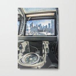 West to New York City Metal Print