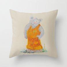 Teddy Bear 2 Throw Pillow