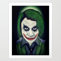 El Joker Art Print