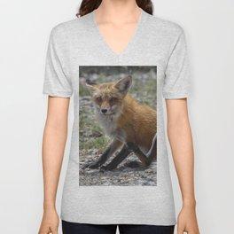 Itchy Fox Unisex V-Neck