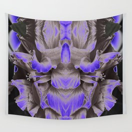 Flower Lady / Prey Mantis Alien Overlord Wall Tapestry