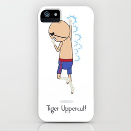 Tiger Uppercut iPhone Case