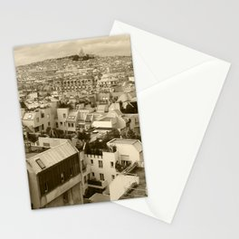 Rooftops of Paris 3 Stationery Cards