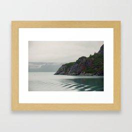 Ripples in the Bay Framed Art Print