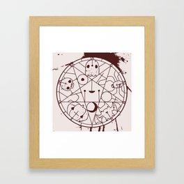 PENTACUTIES Framed Art Print