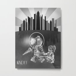 The Underwater Utopia Metal Print