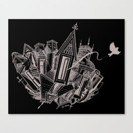 Tesseract Canvas Print