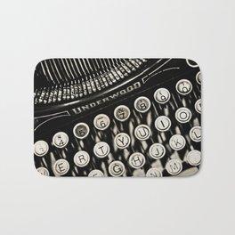 Underwood  typewriter Bath Mat