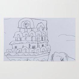 Temple India Rug