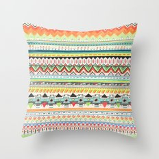 Pattern No.3 Throw Pillow