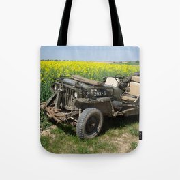 Willys MB Jeep Tote Bag