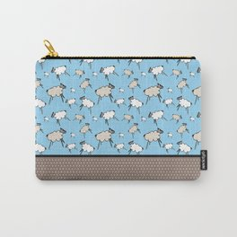 Sheep, sheep, sheep, time to sleep Carry-All Pouch