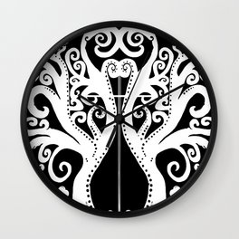 The Cross Our Tree of Life Wall Clock