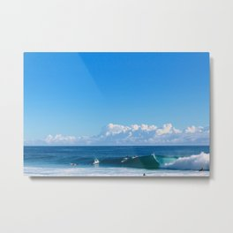 Big & Blue Metal Print