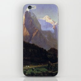 Worthington Whittredge The Wetterhorn iPhone Skin