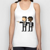 pulp Tank Tops featuring Pulp Pixel by william.