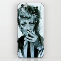 lynch iPhone & iPod Skins featuring David Lynch by Marco Draisci