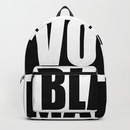 Black Votes Matter Backpack