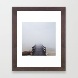 Geyser Steamway Framed Art Print